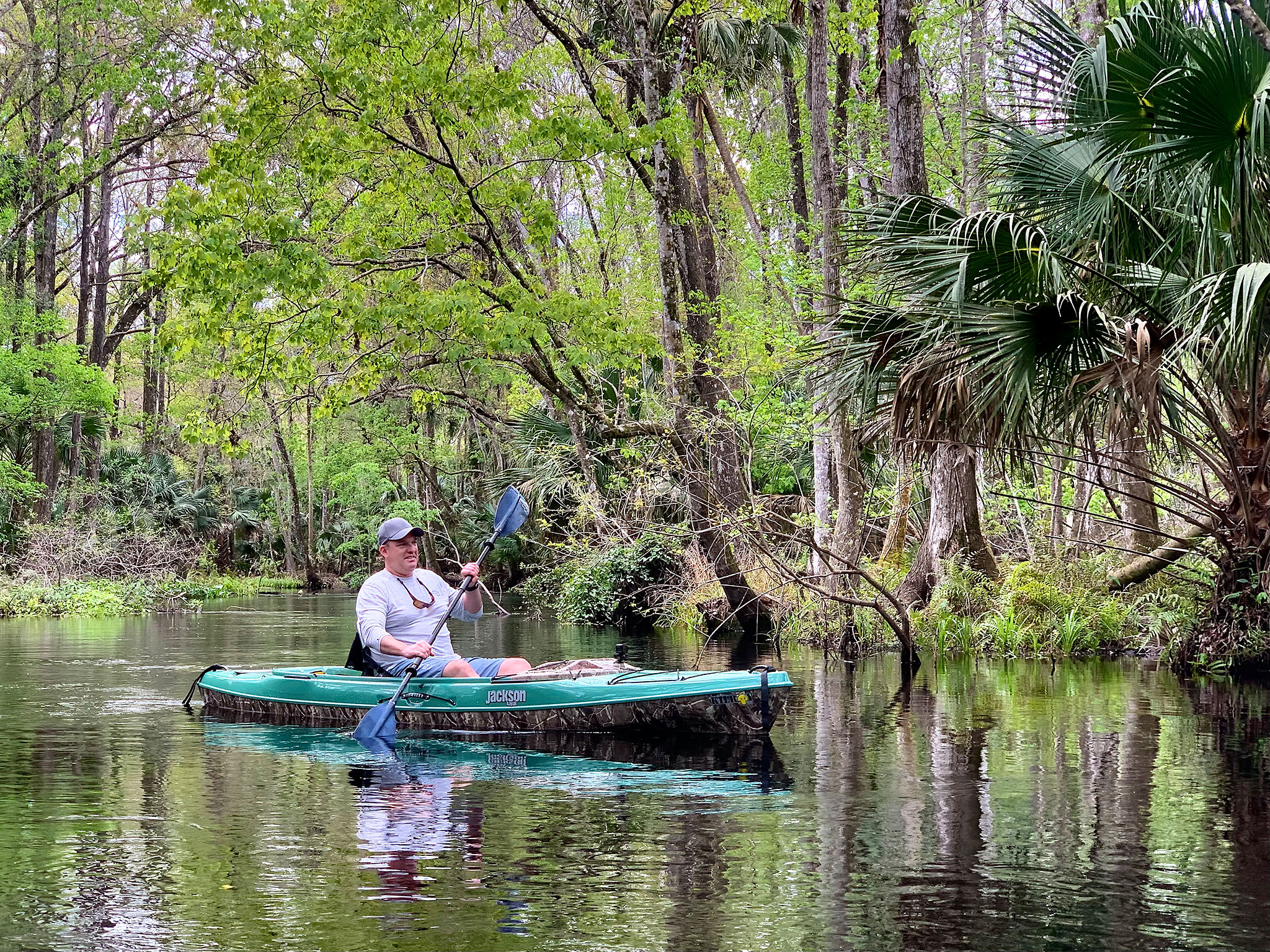 Kayaking Blackwater Creek